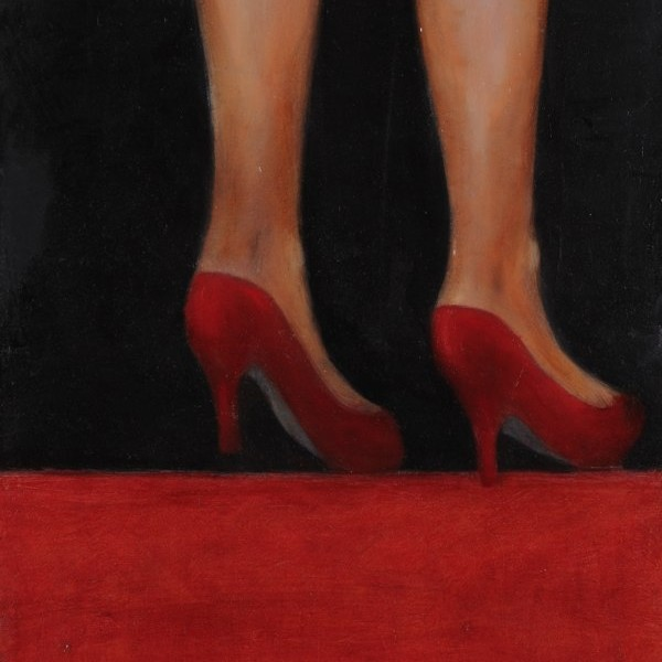 Annick Beaurain - Chaussures rouge
